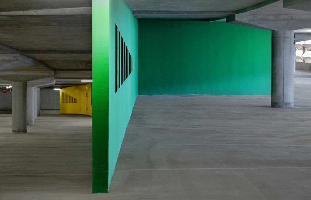 Perrine Goguel architecte - Parkings dans les Alpes
